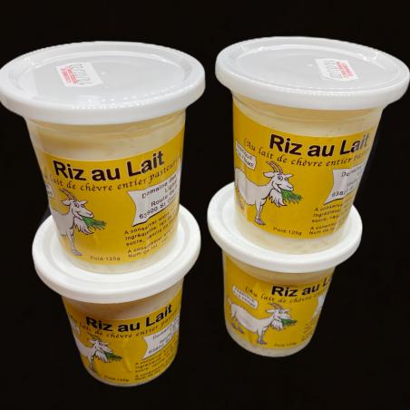 Riz au lait x 4