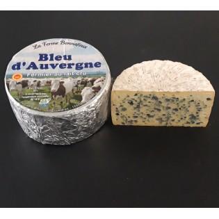 AOP Bleu d\'Auvergne 400g fermier au lait cru