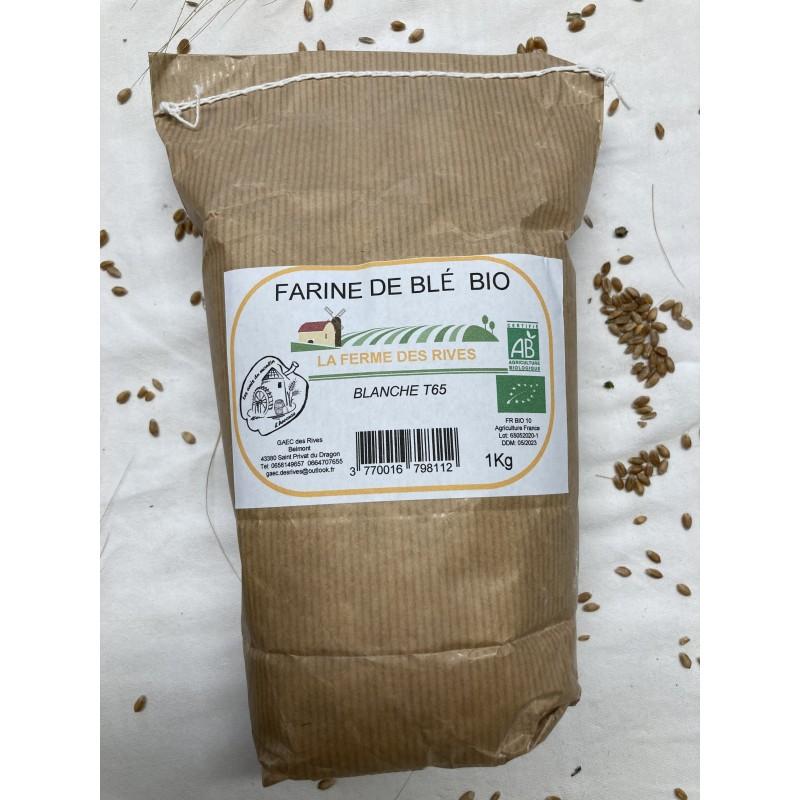 FARINE DE BLE BIO T65 1Kg