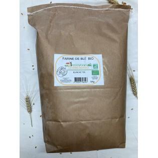 Farine de blé bio T65 2Kg