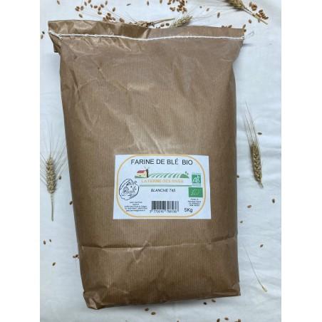 Farine de blé bio T45 5Kg