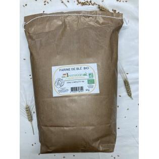 Farine de blé bio T80 5Kg